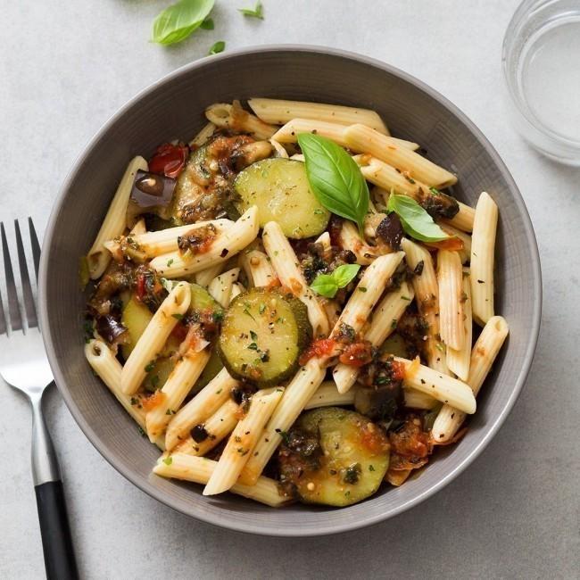Pennoni aux légumes de provence et son coulis de tomate