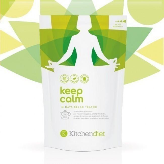 Cure de Thé Detox 14 Jours Keep Calm - destinée à vous relaxer et vous apaiser