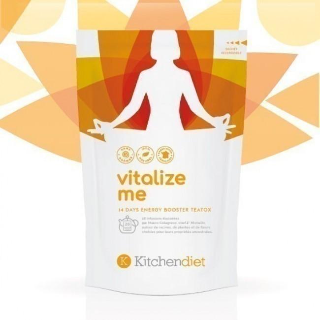 Cure de Thé Detox 14 Jours Vitalize Me - destinée à stimuler votre organisme