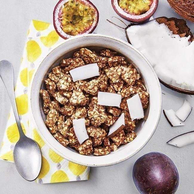 Crunchy granola passion-coco BIO