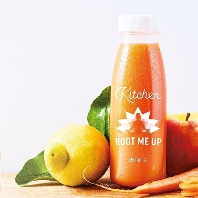 Root Me Up : Carotte, pomme, citron, gingembre, citronnelle