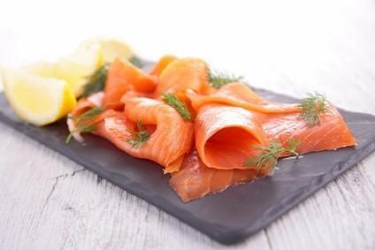 carpaccio saumon fumé