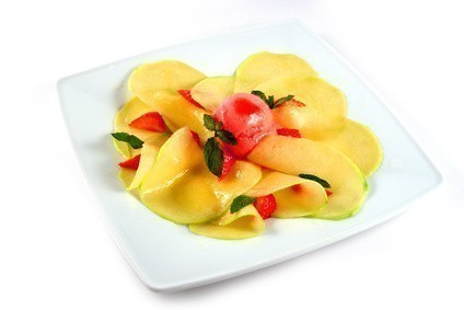 carpaccio mangue