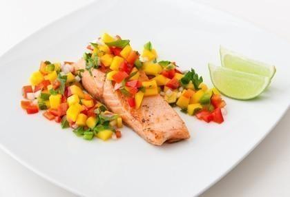 saumon salsa