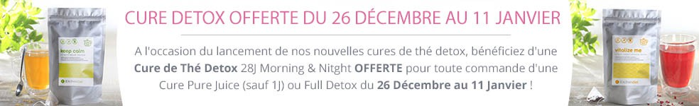 Nouveauté : cure de thé détoxication Kitchendiet + Concours Banniere-promo-26-decembre-detox